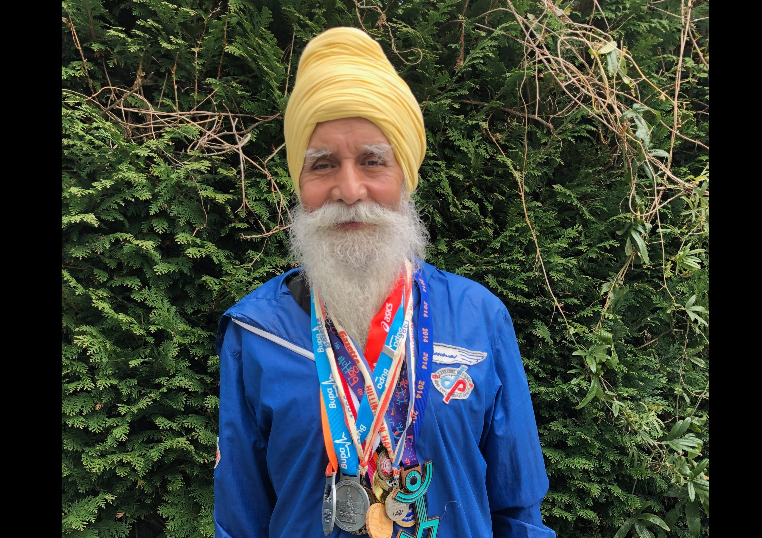 INSPIRATION: Rajinder Singh has raised more than £9,000 for NHS charities
