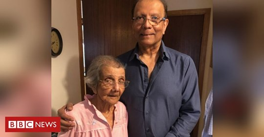 Daphne Shah with her son Wesley (Courtesy: BBC/Facebook)