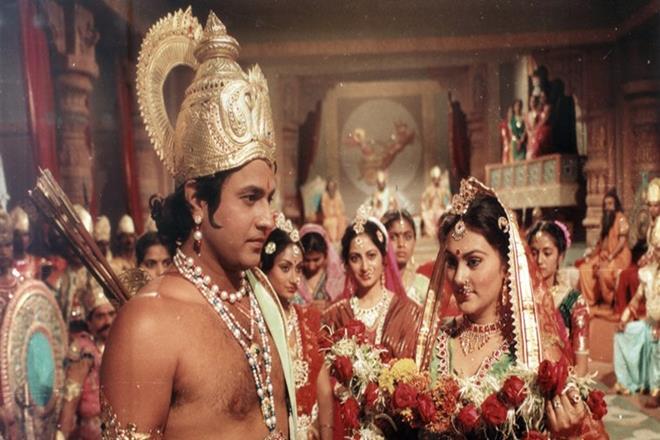 A scene from Ramayan