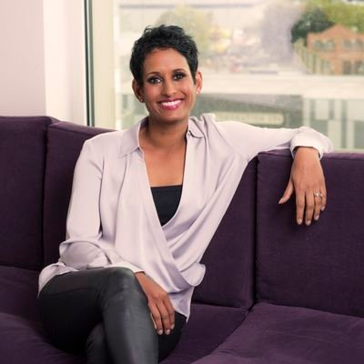 """""""I don't think I make a great first impression,"""" said Naga Munchetty. """"I'm comfortable with that."""" (Courtesy: Twitter)"""