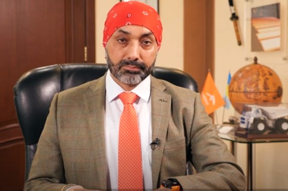 Paramjit Kahlon, the new chief executive of primary steel and integrating mining at Liberty Steel.