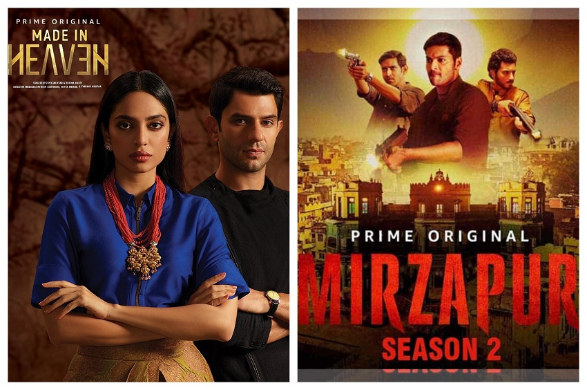 Made In Heaven & Mirzapur 2 Posters