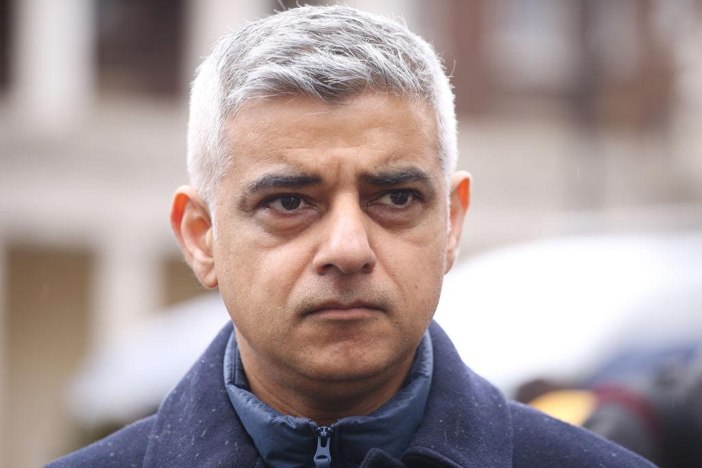 London Mayor Sadiq Khan (Photo: Lia Toby/Getty Images)