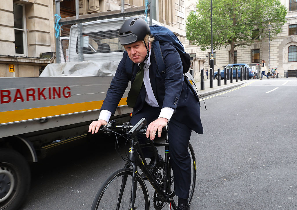 """From helping people get fit and healthy and lowering their risk of illness, to improving air quality and cutting congestion, cycling and walking have a huge role to play in tackling some of the biggest health and environmental challenges that we face,"" says Prime Minister Boris Johnson, who used to cycle to work as London mayor and a backbench MP, (File photo: Dan Kitwood/Getty Images)"