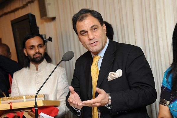 Lord Karan Bilimoria (Photo by Stuart Wilson/Getty Images).