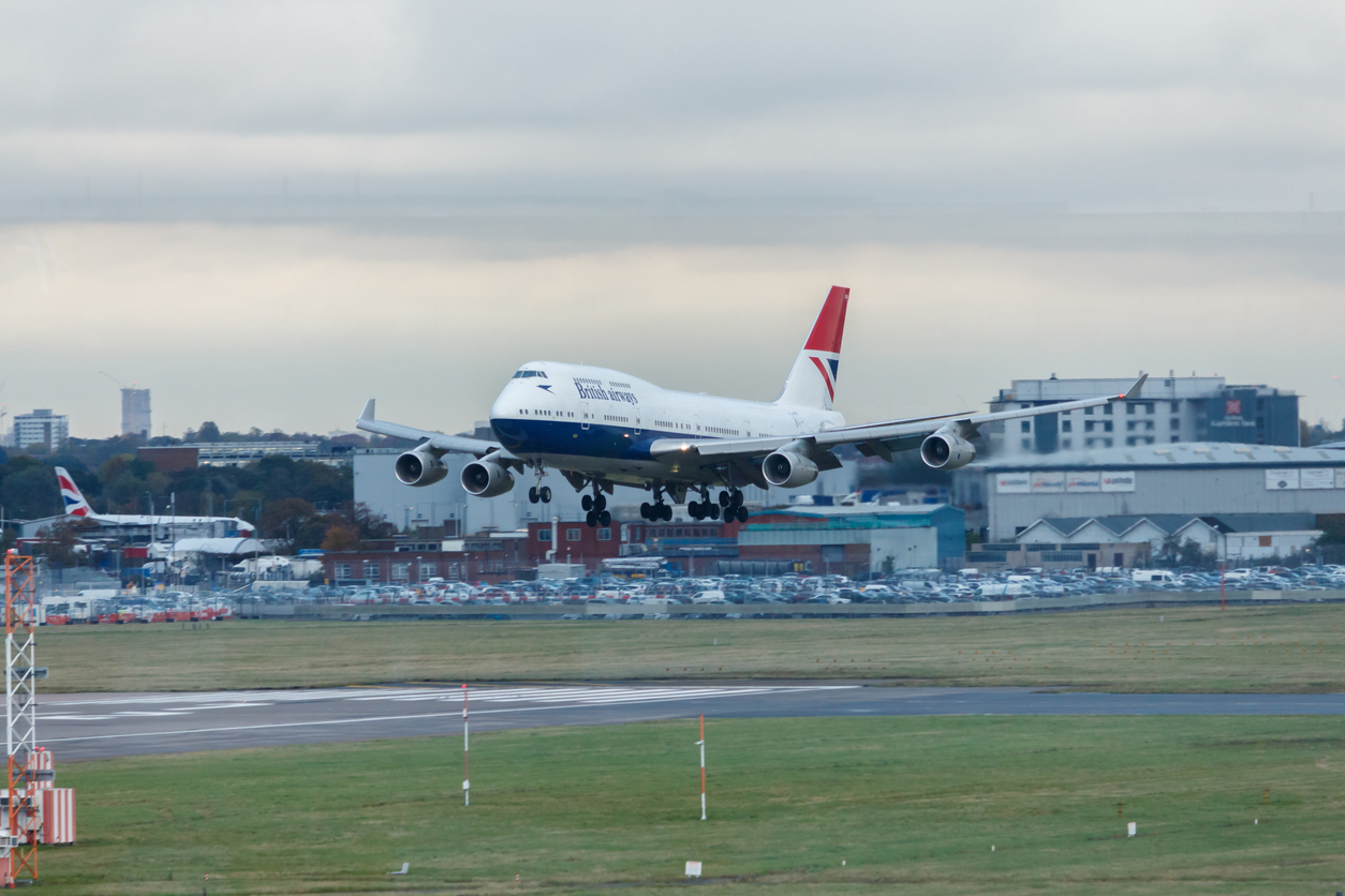 Representational image: A British Airways Boeing 747 aircraft landing at London Heathrow. (iStock)