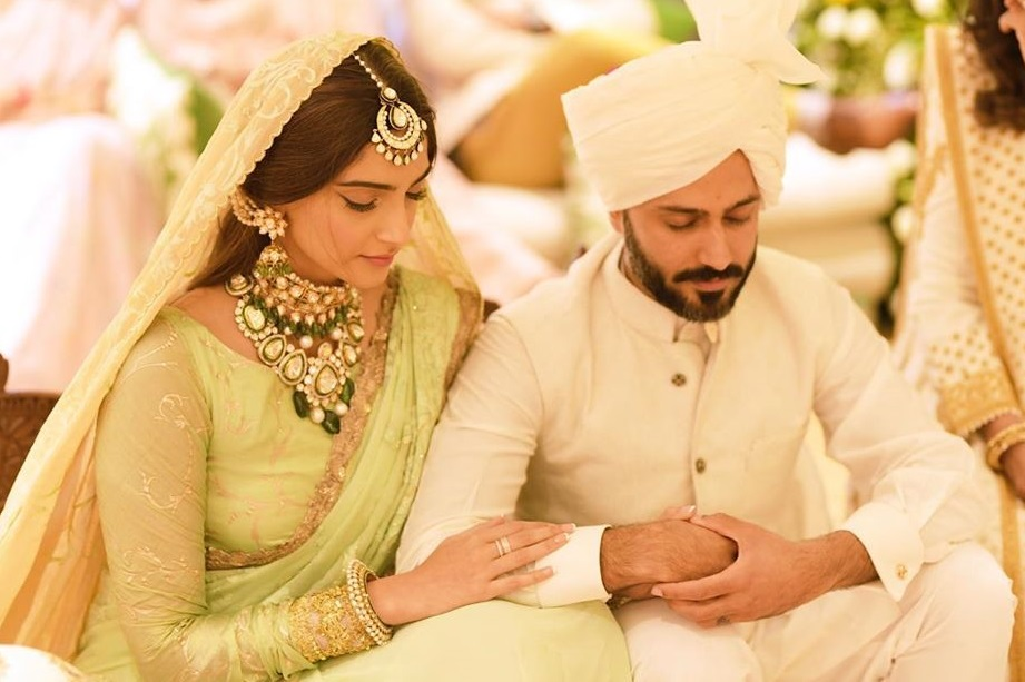 Sonam Kapoor's sweet note for hubby Anand on 2nd wedding anniversary