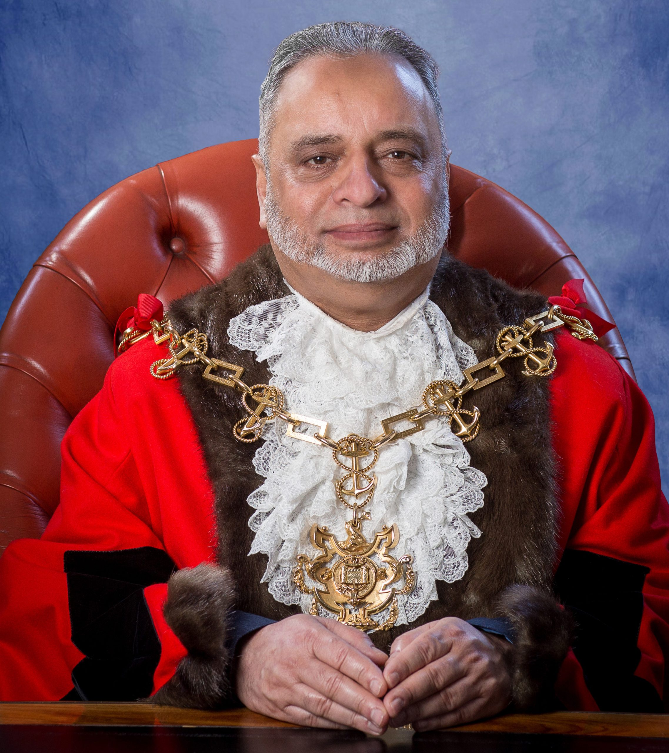 """""""I already do a lot of charity work, and I'll be carrying this on throughout my mayoral year,"""" said Stockton's new mayor, Mohammed Javed."""