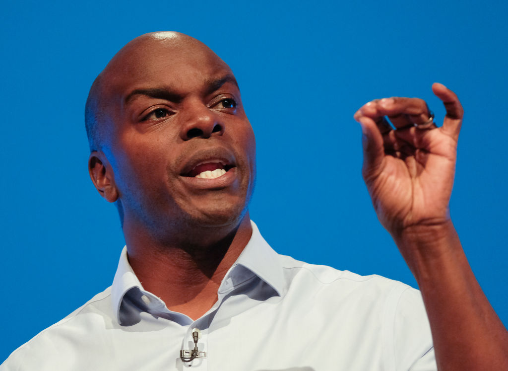 Critics feel Conservative mayoral candidate Shaun Bailey fails to match up to London Mayor Sadiq Khan. (Photo: Ian Forsyth/Getty Images)
