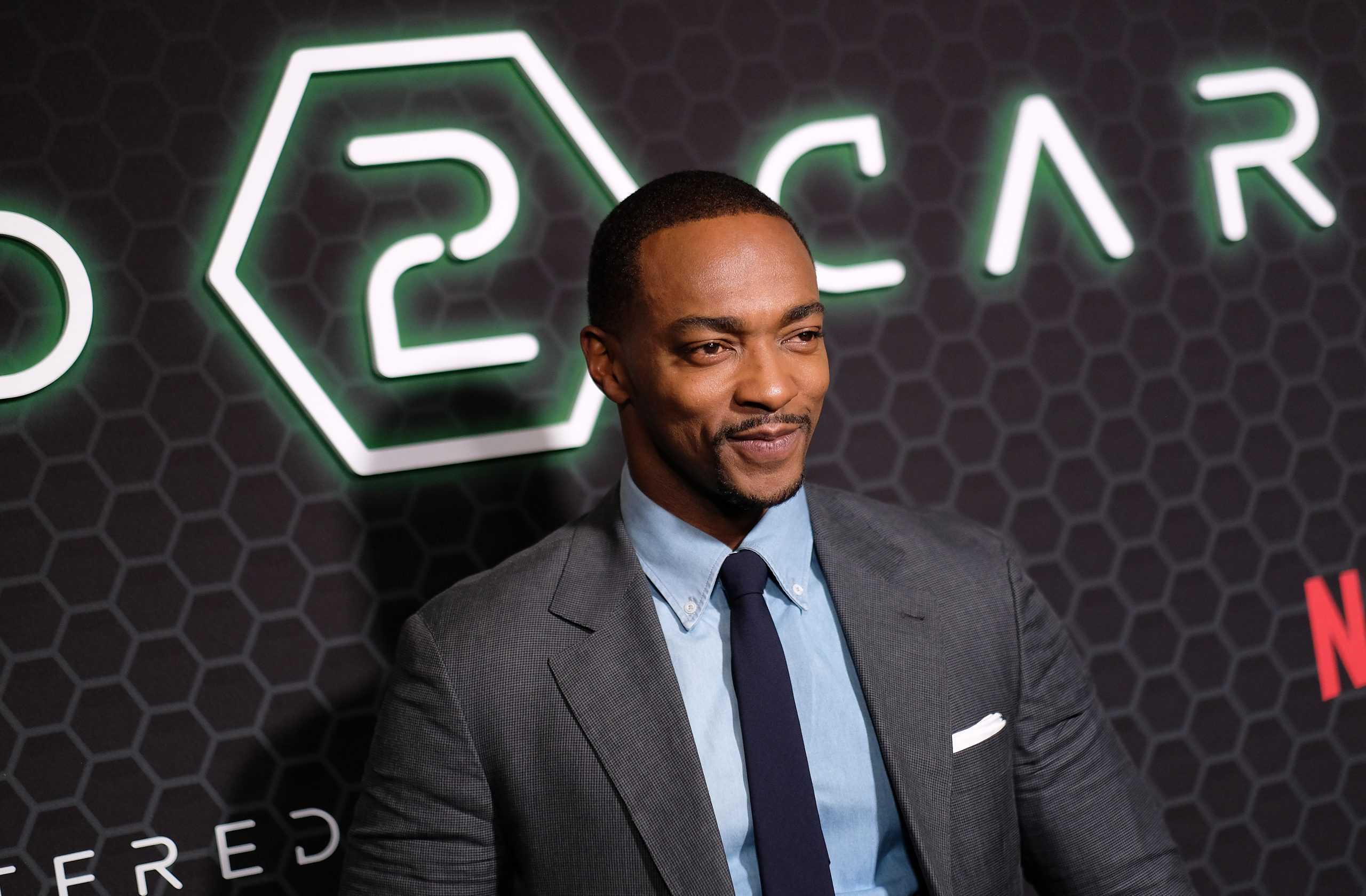 Anthony Mackie (Photo by Dimitrios Kambouris/Getty Images)