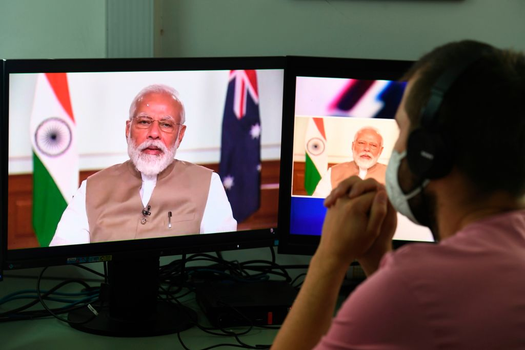 Prime minister Narendra Modi's much-touted Rs 200 trillion (£210 billion) stimulus package announced in May failed to impress, given that most of it was either in the form of loans or reforms that were positive, but longer term in nature  (Photo: PRAKASH SINGH/AFP via Getty Images).