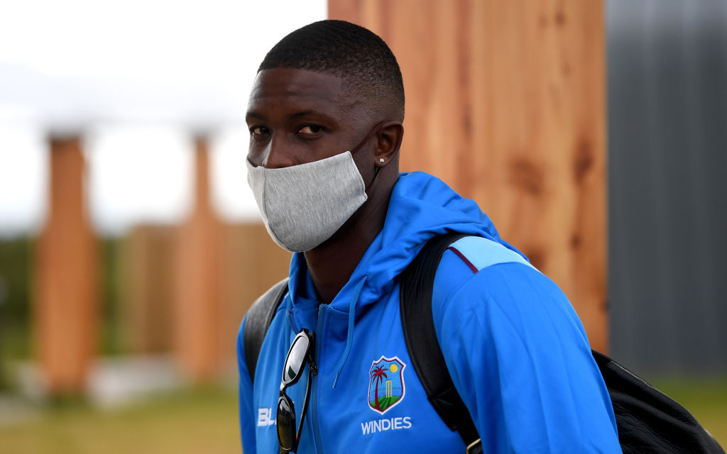 """We believe we have a duty to show solidarity and also to help raise awareness. This is a pivotal moment in history for sports, for the game of cricket and for the West Indies cricket team,"" said West Indies skipper Jason Holder said in the statement. (Photo: Gareth Copley/ECB via Getty Images)"