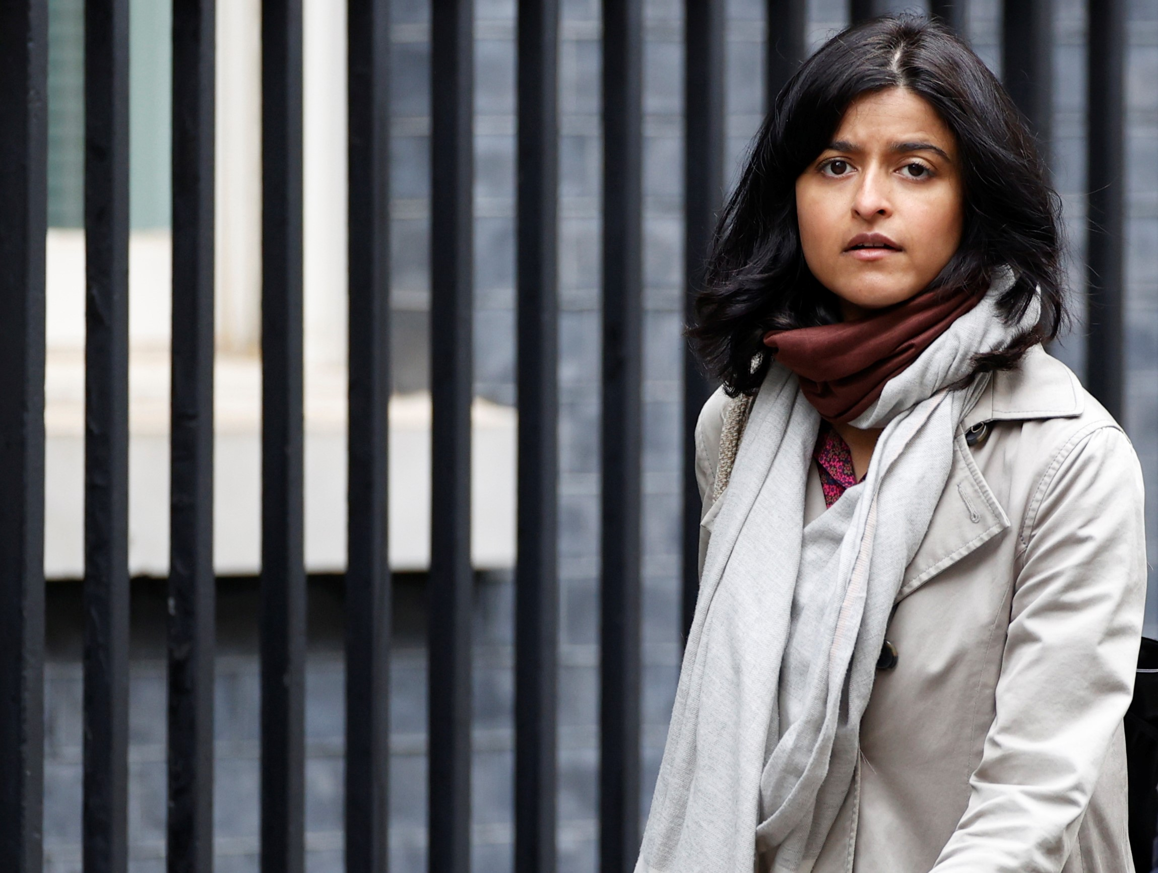 """Critics maintain that Munira Mirza, director of No.10's policy unit, is """"unsuited"""" to lead the commission, as she had criticised past inquiries into institutional racism. (REUTERS/John Sibley)"""
