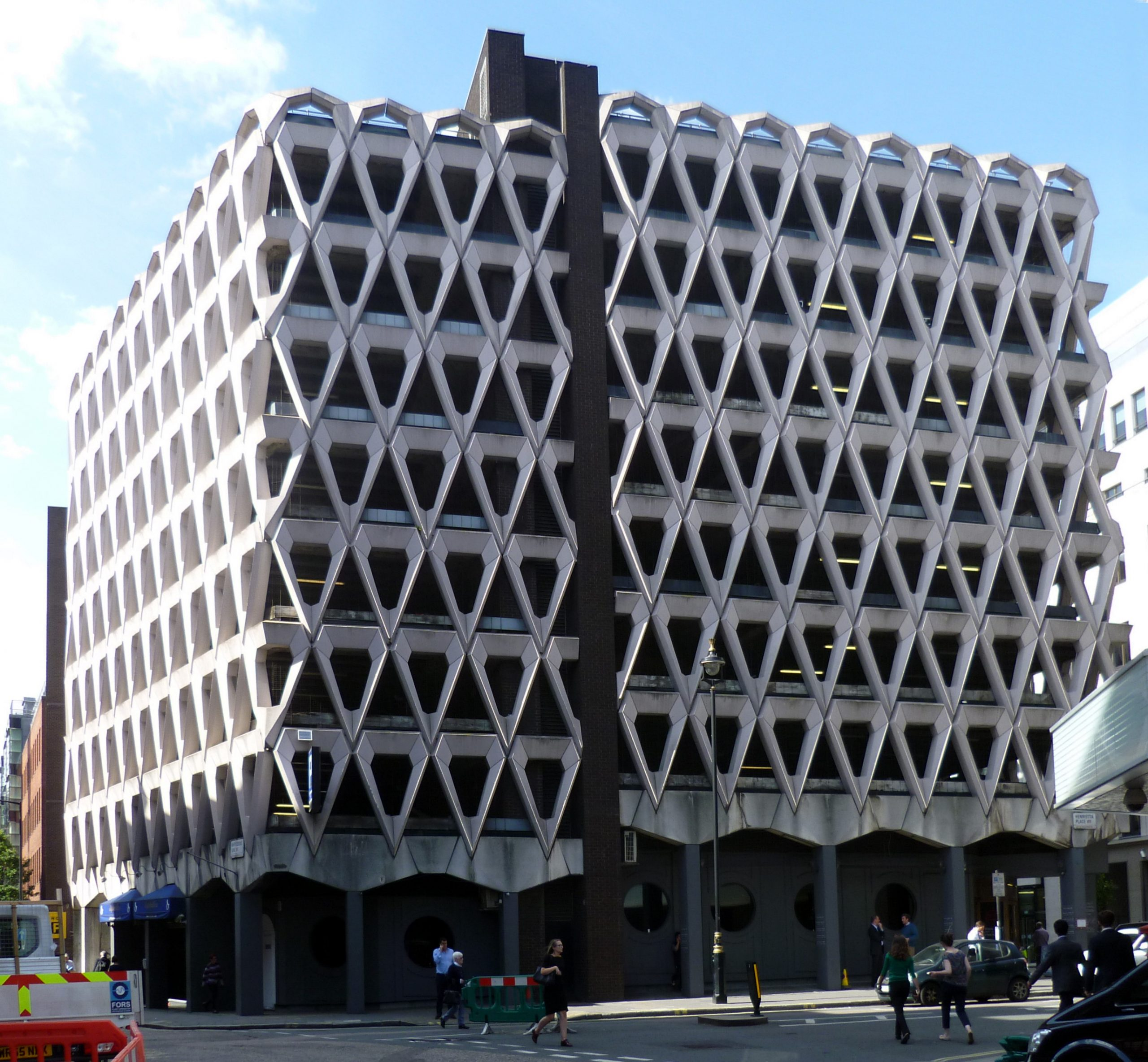 File photo of the Welbeck Street car park in Marylebone, London. The site, taken over by Shiva Hotels, will see a luxury hospitality property by 2023.