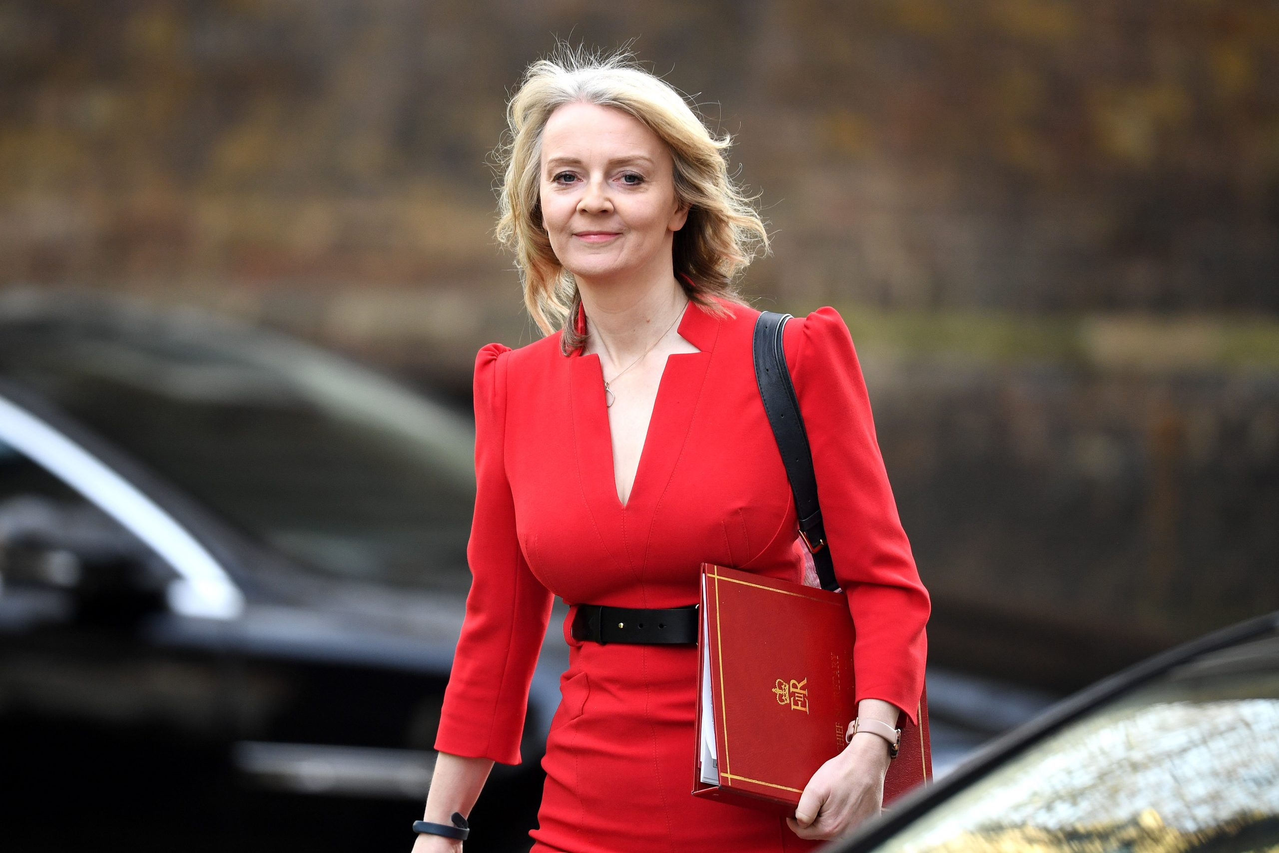 Elizabeth Truss  (Photo by Leon Neal/Getty Images)