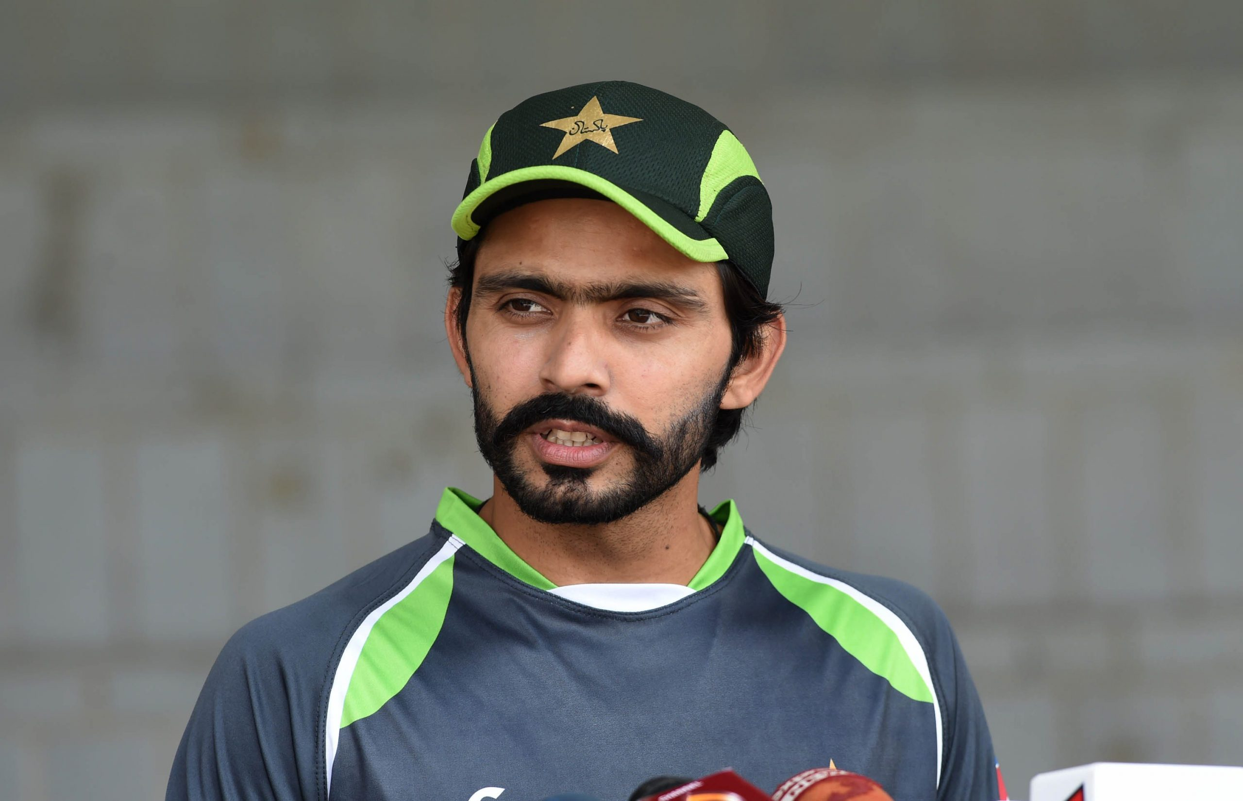 Pakistani cricketer Fawad Alam (Arif Ali/AFP via Getty Images)