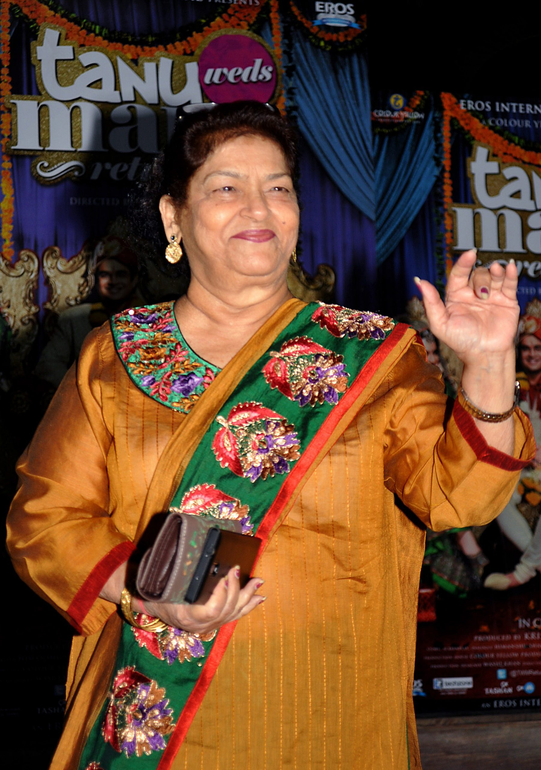 RIGHT MOVES: Saroj Khan (Photo: STRDEL/AFP via Getty Images)