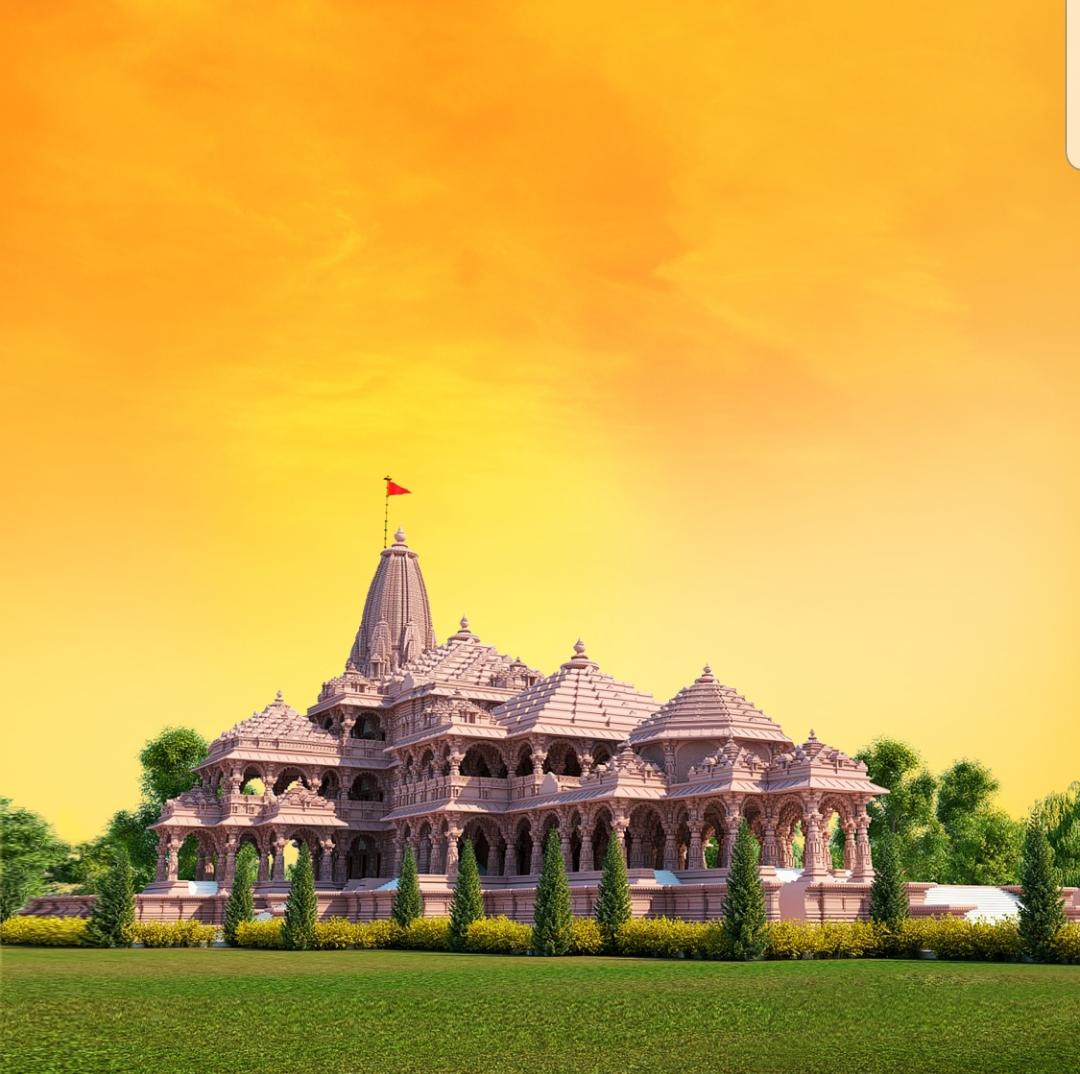 The proposed Ram temple in Ayodhya (Photo: Twitter)