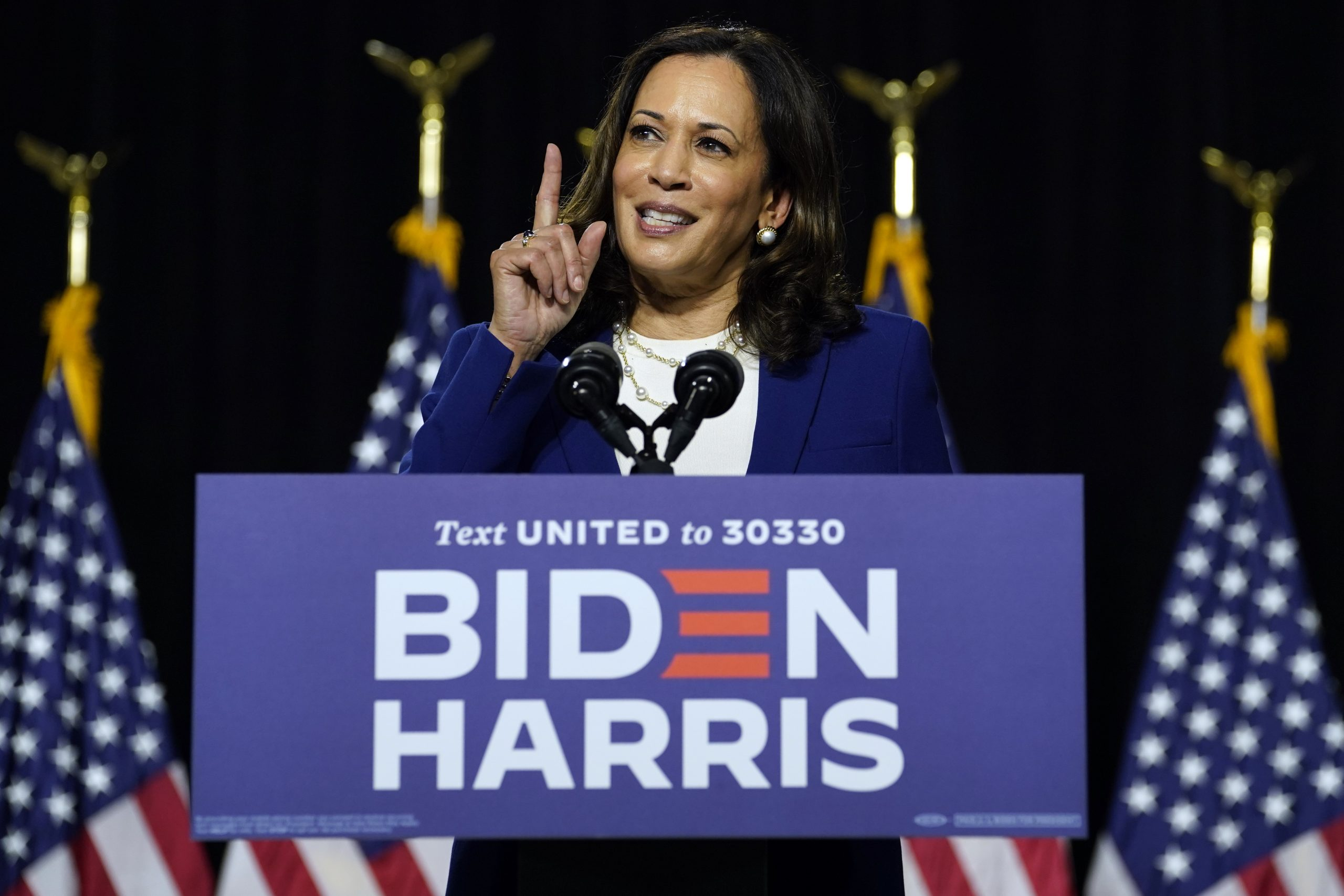 Kamala Harris slams Trump, Barr for denying systemic racism in justice system