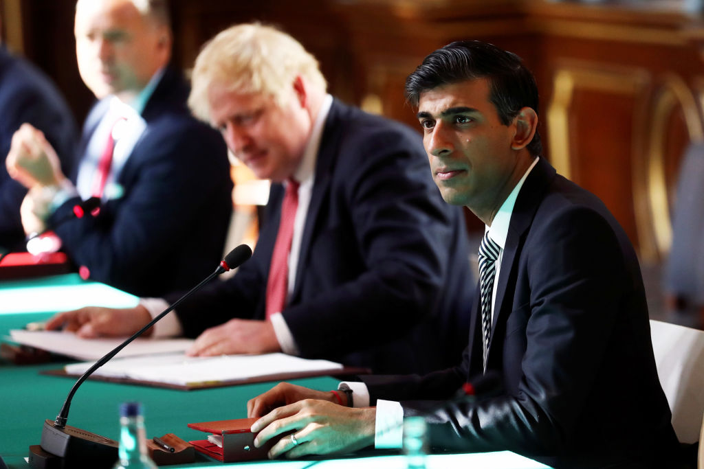 """It's wrong to keep people trapped in a situation and pretend that there is always a job that they can go back to,"" Chancellor of the Exchequer Rishi Sunak said on the furlough scheme. (Photo: Simon Dawsonl/Getty Images)"