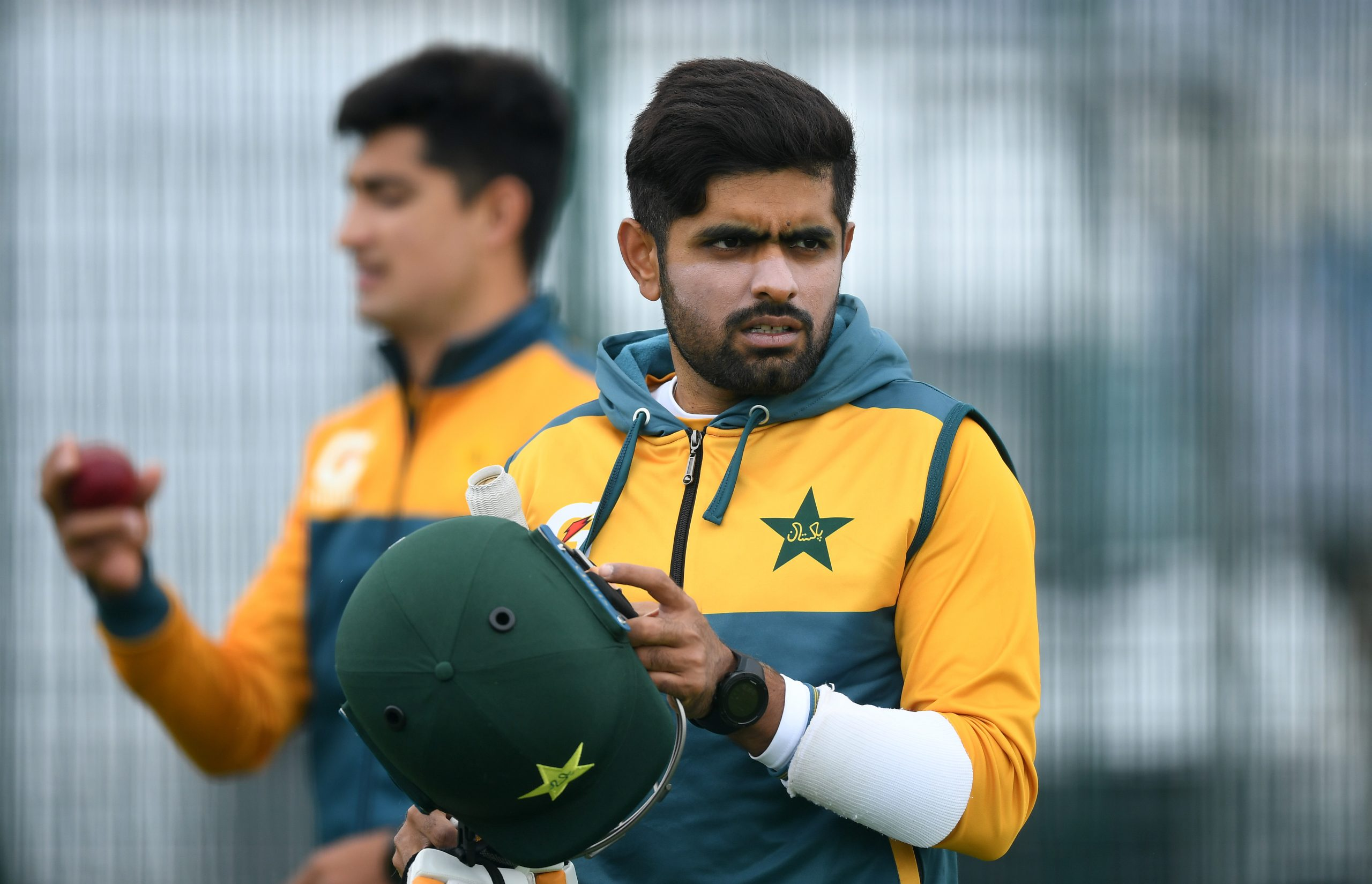 Babar Azam (Photo by Gareth Copley/Getty Images)