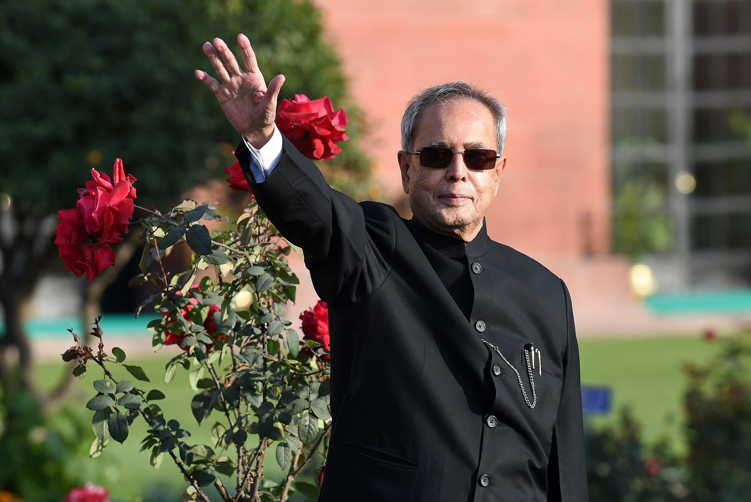 Pranab Mukherjee (PRAKASH SINGH/AFP via Getty Images)