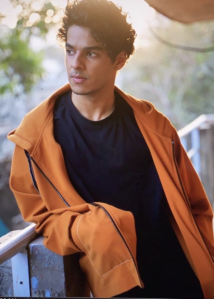 ACTING UP: Ishaan Khatter