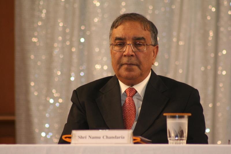 Nemubhai Chandaria  OBE, co-ordinator of OneJAIN