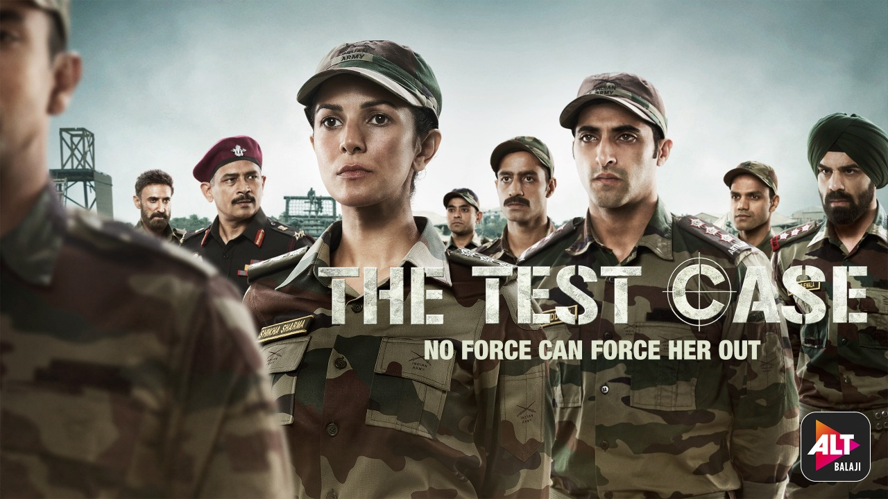 The Test Case  Poster