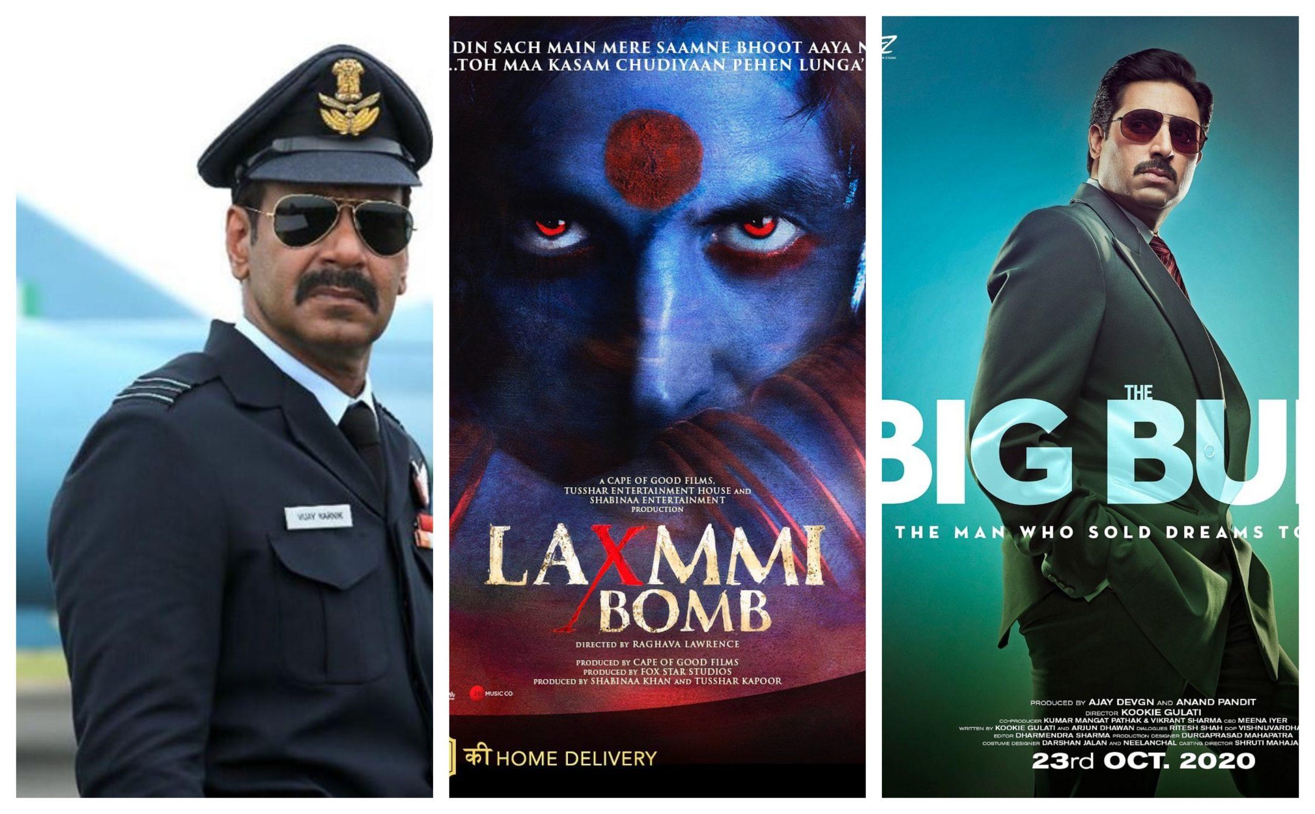 Bhuj, Laxmmi Bomb and The Big Bull Posters