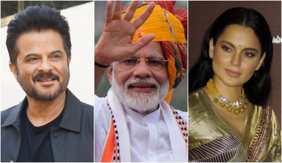 Anil Kapoor, PM Narendra Modi, Kangana Ranaut