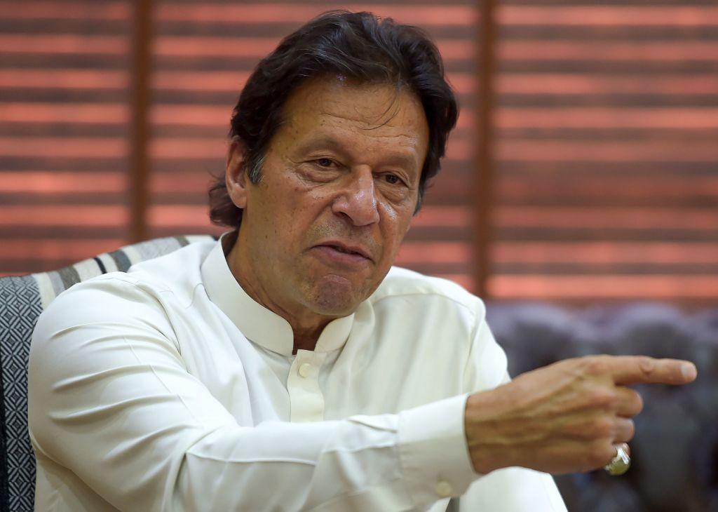 FILE PHOTO: Pakistan prime minister Imran Khan.  (AAMIR QURESHI/AFP via Getty Images)