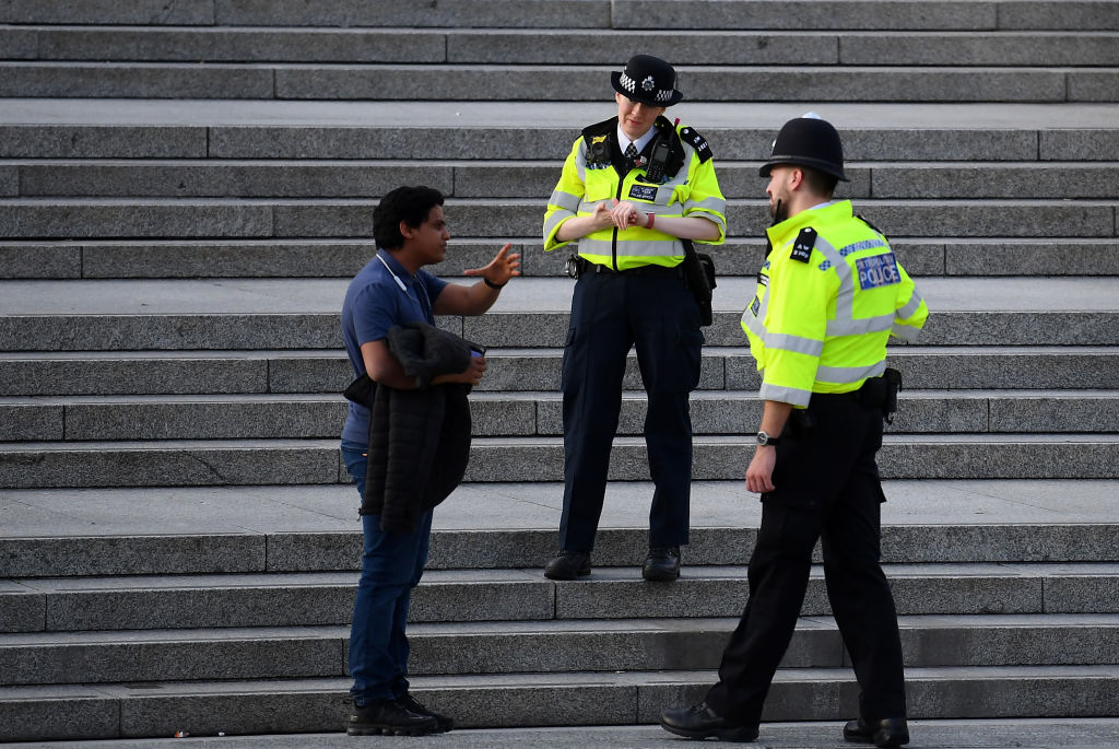 """""""Confusion over what is law and what is merely guidance has left citizens open to disproportionate and unequal levels of punishment for breaking the rules, and unfortunately, it seems that once again, this is overtly affecting BAME individuals,"""" says Harriet Harman, chairwoman of the Joint Committee on Human Rights. (File photo: Alex Davidson/Getty Images)"""