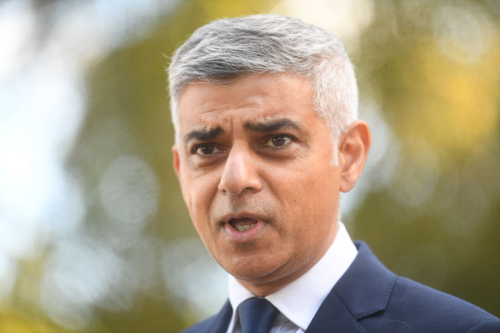 """I just don't think he's [Prime Minister Boris Johnson] understood what the scientific advisers are advising, or what others around the world are doing to try and control this virus,"" says London mayor Sadiq Khan. (Photo: Victoria Jones/Getty Images)"