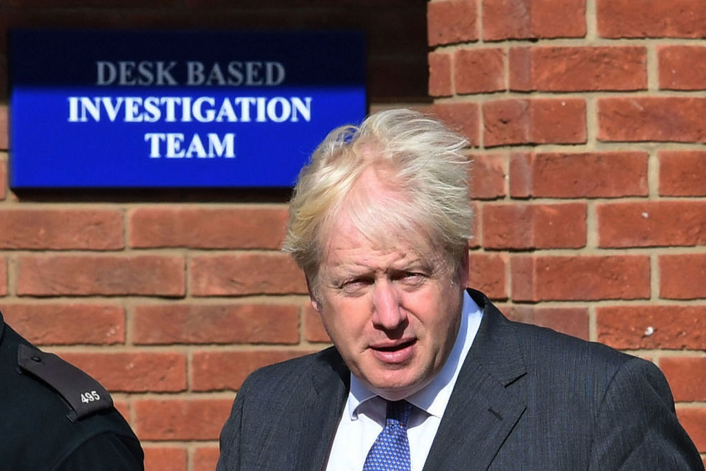 """""""We write to you because it is within your power to right this wrong, to put an end to our detention, deportation and humiliation,"""" the student wrote to Prime Minister Boris Johnson. (Photo: Stefan Rousseau - WPA Pool/Getty Images)"""