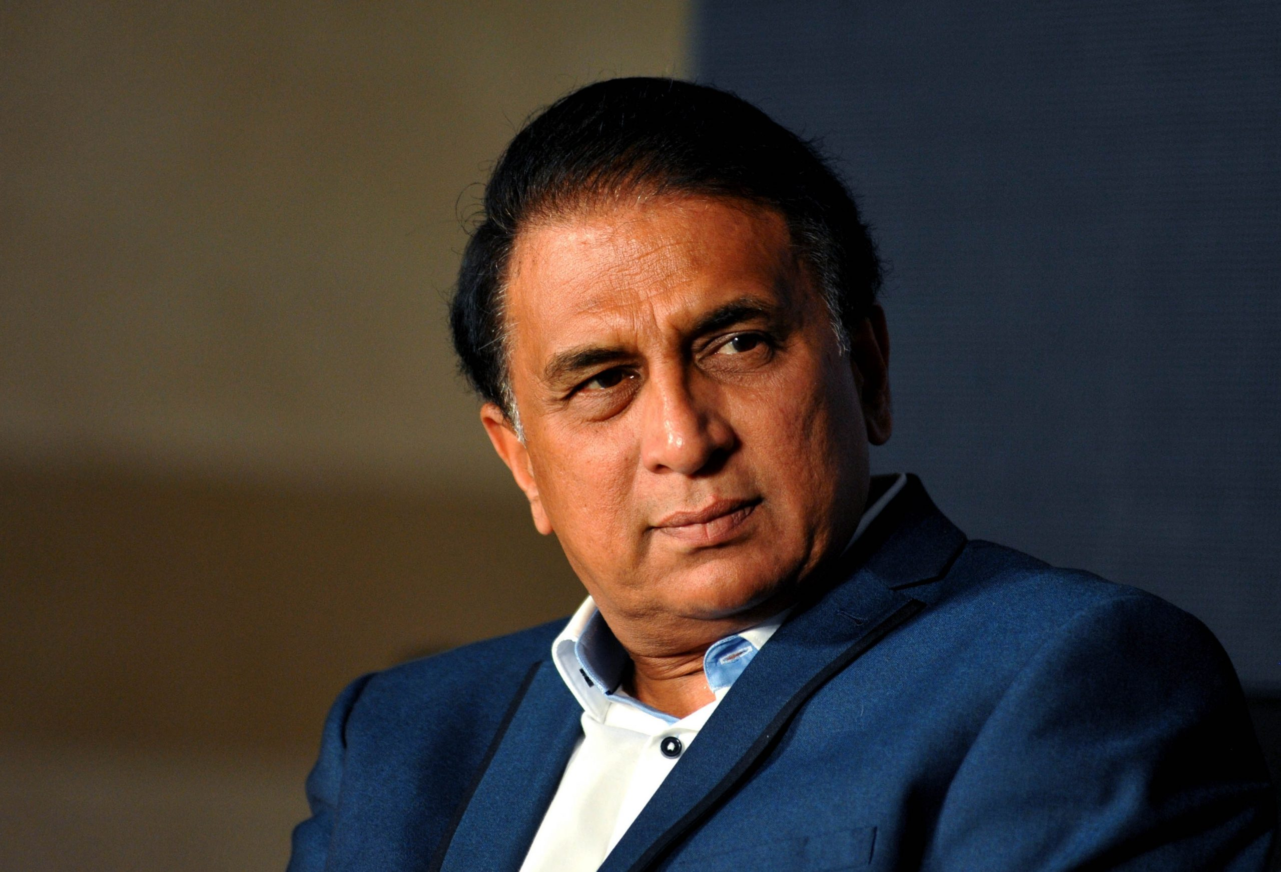 Former Indian cricketer Sunil Gavaskar (STRDEL/AFP via Getty Images)