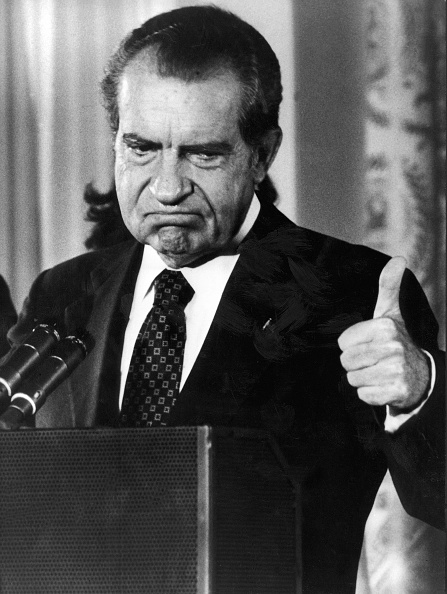 Richard Nixon (Photo: AFP via Getty Images).