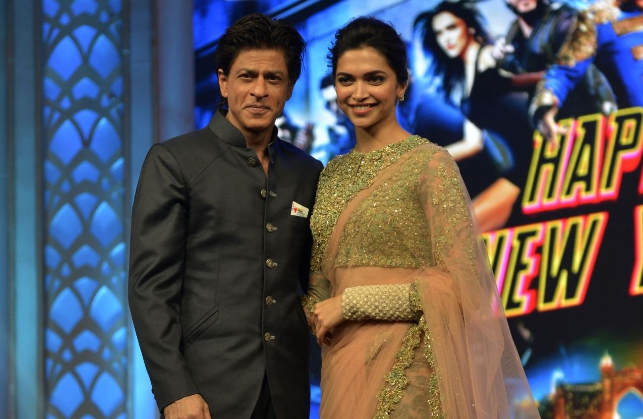 Shah Rukh Khan, Deepika Padukone