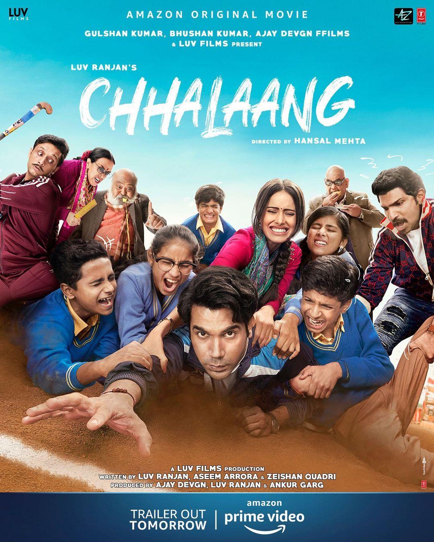 Chhalaang Poster (Image: T-Series)