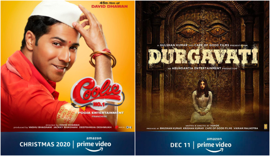 Coolie No.1 and Durgavati posters (Hype PR)