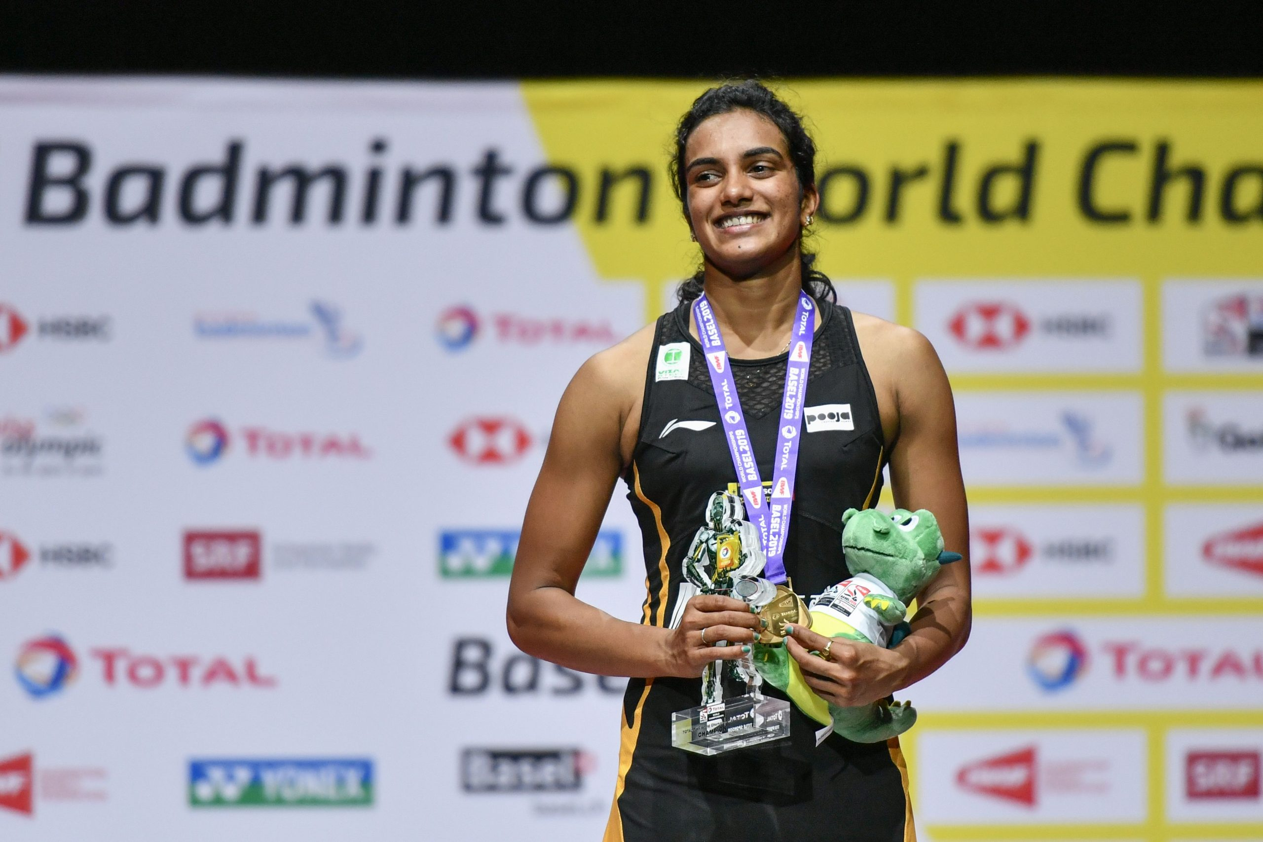 PV Sindhu (FABRICE COFFRINI/AFP via Getty Images)