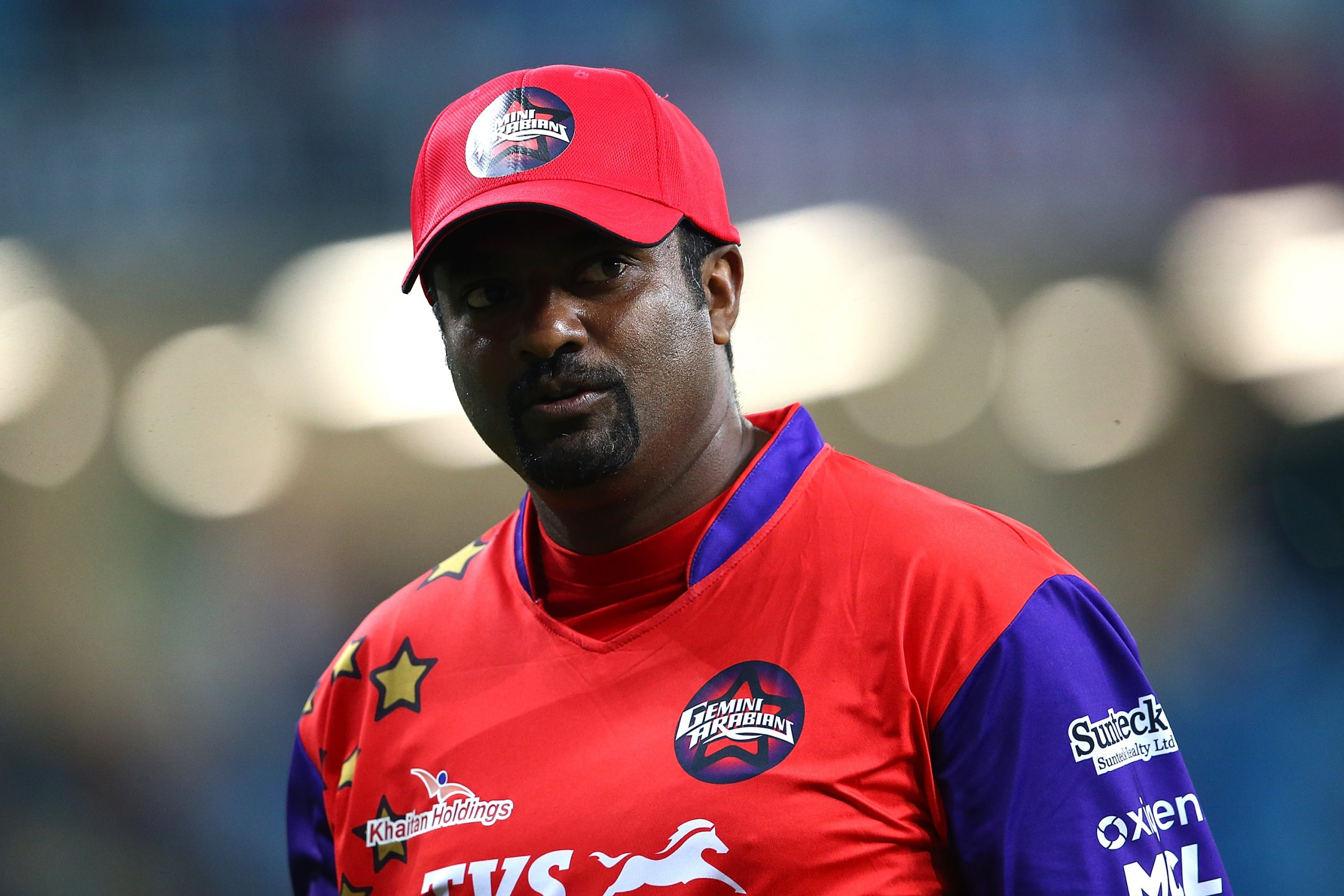 Muttiah Muralitharan  (Photo by Francois Nel/Getty Images)