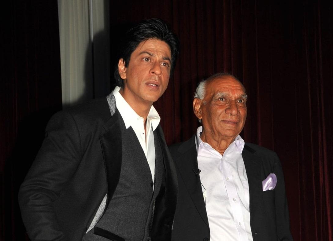 Shah Rukh Khan, Yash Chopra (Photo by STRDEL/AFP/GettyImages)