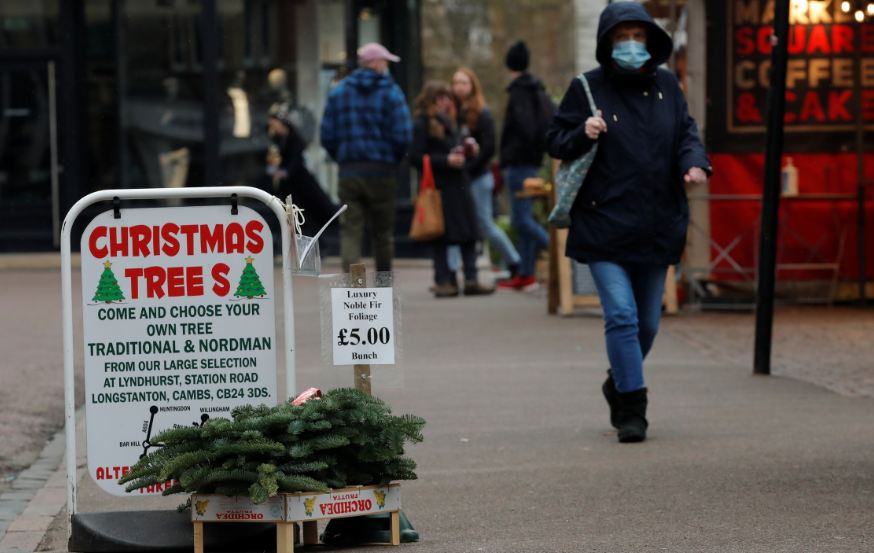 Britain may allow Christmas as Covid cases start to flatten