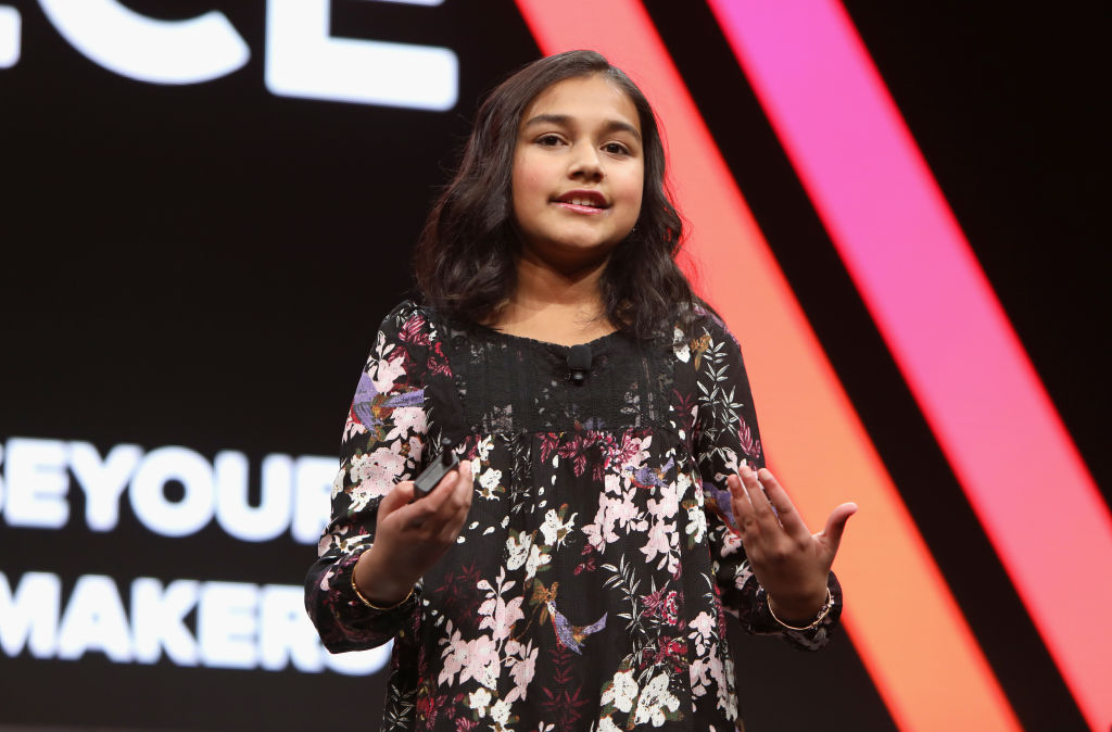 Time Kid of the Year Gitanjali Rao aims to 'solve world's problems'