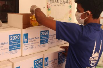 Coronavirus - HELPING HAND: Muslim charities such as Islamic Relief have had to adjust their fundraising campaigns to meet government guidelines