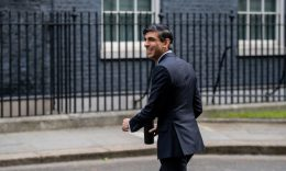 Coronavirus - Chancellor of the Exchequer, Rishi Sunak, at 10 Downing Street. (Photo: Chris J Ratcliffe/Getty Images)