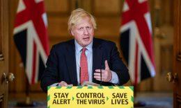 Coronavirus - Britain's Prime Minister Boris Johnson.