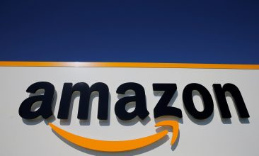 Business - FILE PHOTO: The logo of Amazon is seen in Lauwin-Planque, northern France, April 22, 2020.  REUTERS/Pascal Rossignol/File Photo