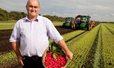 FEATURES - Scott Watson, radish grower at G's Growers in Feltwell, Norfolk